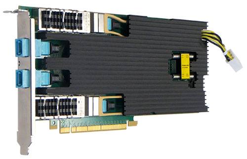 Silicom Ltd  | PE340G2DBIR 40G Server Adapter Intel® FM10420