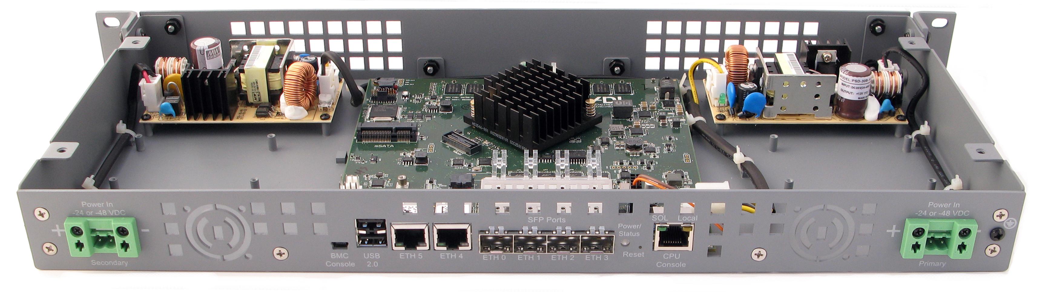 silicom adi rcc ve rackmount appliance