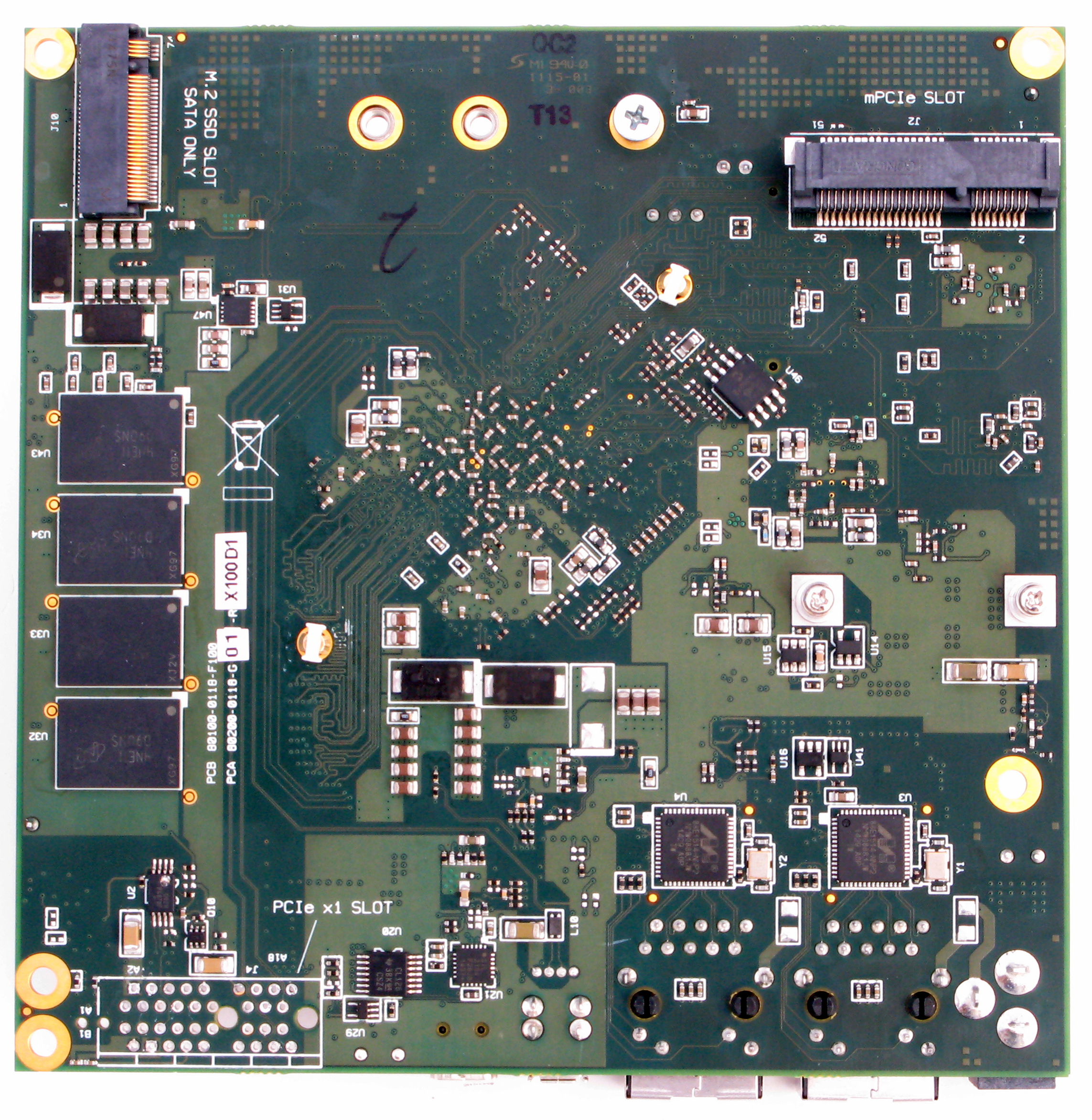 silicom rcc dff networking board