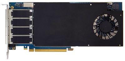 Silicom Ltd  | fb4CGg4@VU09P-2-A FPGA Accelerator