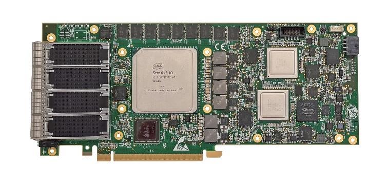 FB4CG@S10D21 fpga SmartNIC intel based