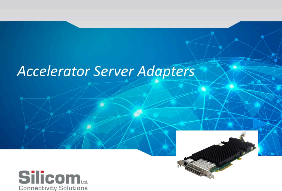 Silicom Accelerator Server Adapter
