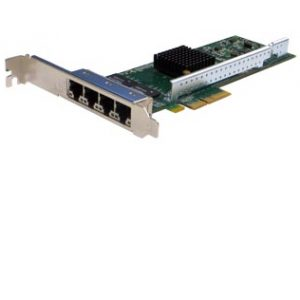 PE2G4I80L Quad port PCI Express Gigabit NIC