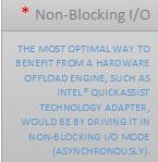 non blocking io