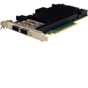 Dual Fiber 100 Gigabit Ethernet Content Director Server Adapter